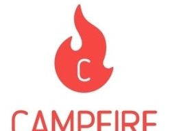 camp fire ロゴ